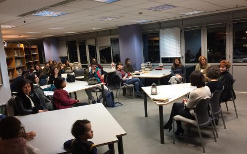 εκδήλωση Βιβλιοθήκης Παιδαγωγικής
